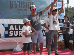 『O'NEILL presents KYUSHU OPEN 2013 supported by 日向木挽き』RESULTS
