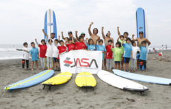 『SURFING SCHOOL FOR KIDS BEGINNERS in SHONAN OPEN』レポート