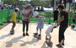 横浜開港祭2014 JASAスケートボード体験会 レポート
