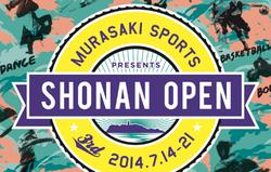 MURASAKI SPORTS PRESENTS SHONAN OPEN 2014