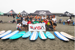 『JASA SURFING SCHOOL FOR KIDS BEGINNERS in SHONAN OPEN』レポート