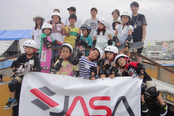 『JASA SKATEBOARD SCHOOL FOR KIDS in SHONAN OPEN』レポート
