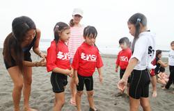 ママとサーフィンを一緒に始めよう!!『JASAサーフィンスクール for ママ&キッズ』開催決定!!