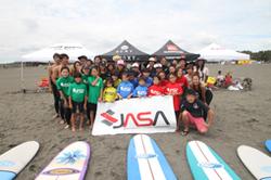 『JASAサーフィンスクール for ママ&キッズ』レポート