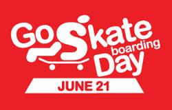 今年の6/21 Go Skateboarding Dayは日曜日!! みんなは、どこで滑る?