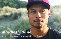 ニュージーランド航空 2015年 機内安全ビデオに大野修聖が登場!!